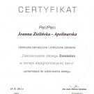 Certyfikat - Cosmelan