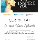 Certyfikat - Merz