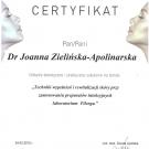 Certyfikat - Wypełniacze