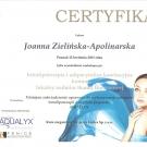 Certyfikat - Aqualyx
